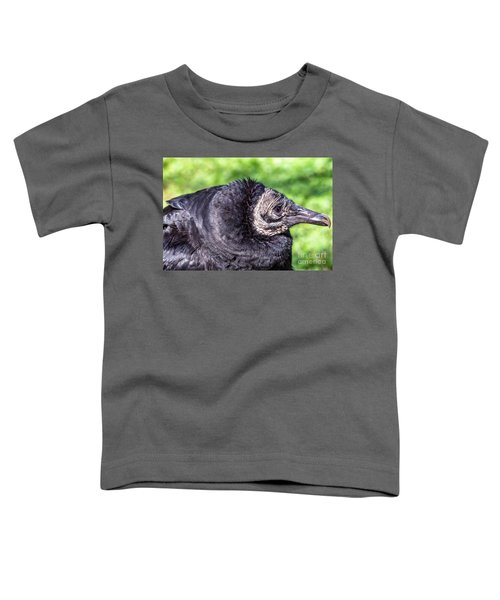 Black Vulture Waiting For Prey Toddler T-Shirt