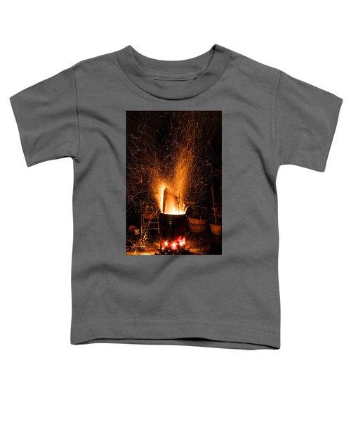 Blazing Bonfire Toddler T-Shirt