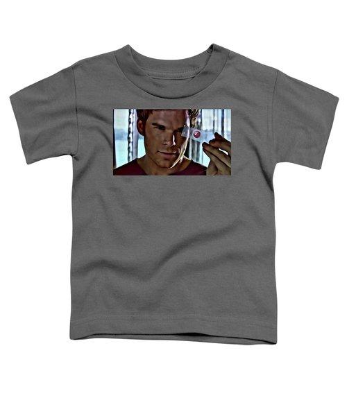 Blood Slide Dexter Toddler T-Shirt