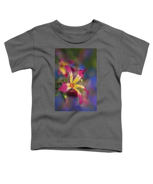 Bloomin Hong Kong Orchid Toddler T-Shirt