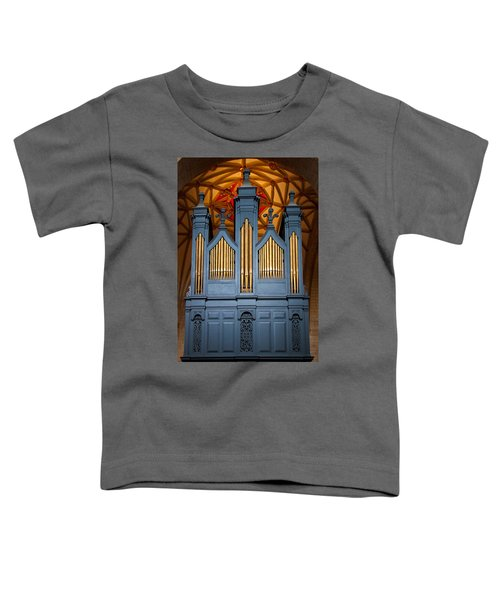 Blue And Gold Music Toddler T-Shirt
