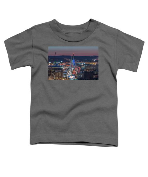 Blue And Red Zakim Toddler T-Shirt