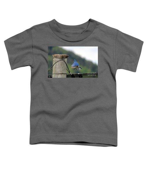 Blue Bird Toddler T-Shirt