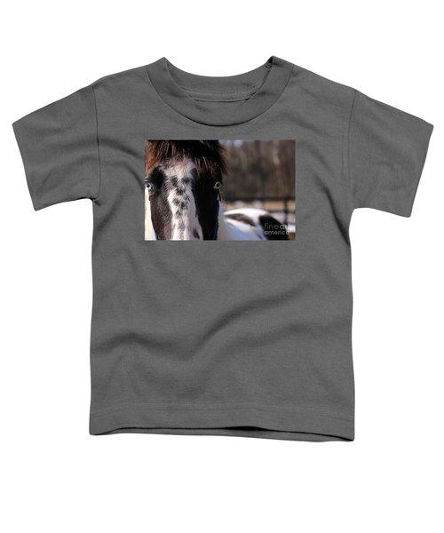 Blue Eye Stare Toddler T-Shirt