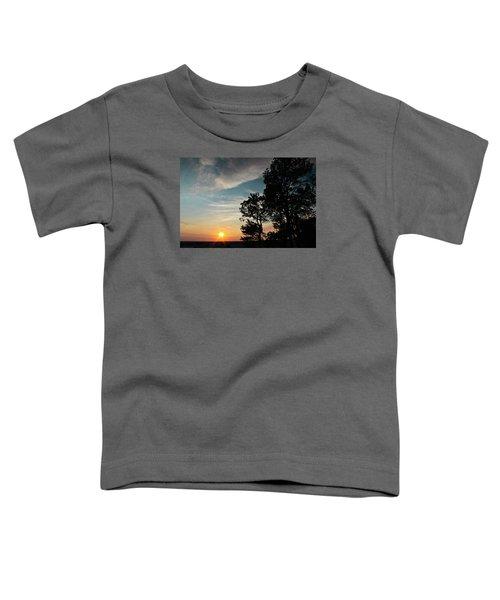 Blue Heaven Sunset Toddler T-Shirt