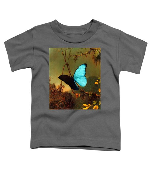 Blue Morpho Butterfly Toddler T-Shirt