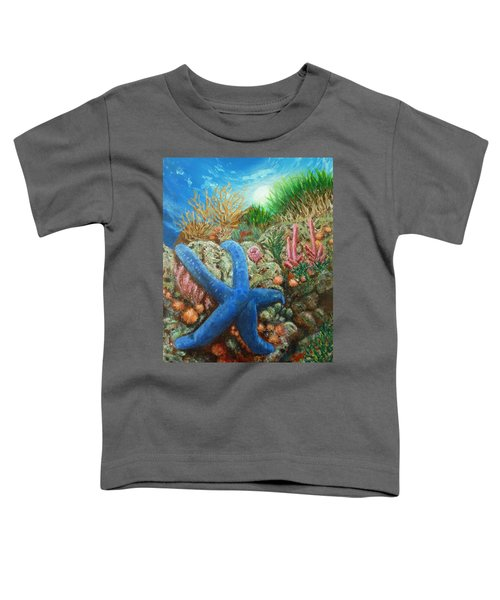 Blue Seastar Toddler T-Shirt