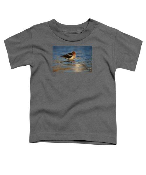 Blue Solitude Toddler T-Shirt