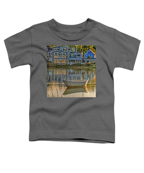 Boat In Late Afternoon Toddler T-Shirt