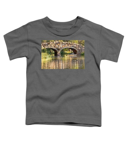 Boaters Under The Bridge Toddler T-Shirt