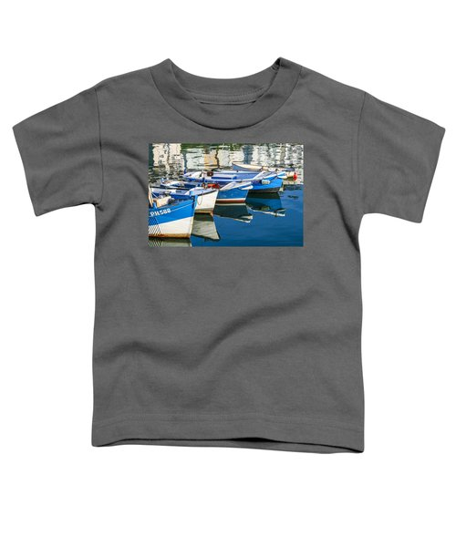 Boats At Anchor Toddler T-Shirt