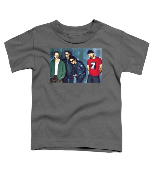 Bono U2 Artwork 5 Toddler T-Shirt
