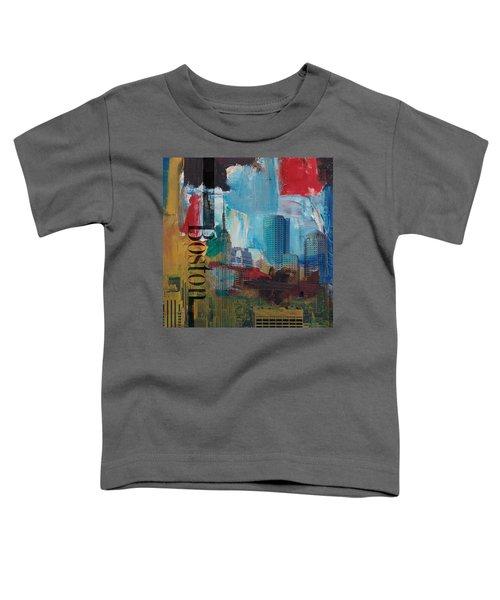 Boston City Collage 3 Toddler T-Shirt