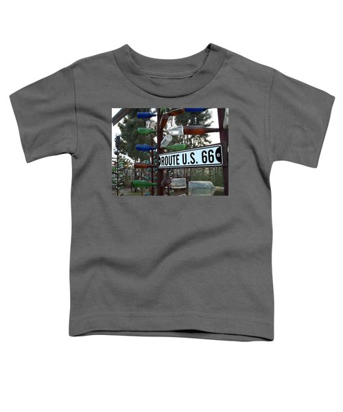 Bottle Trees Route 66 Toddler T-Shirt