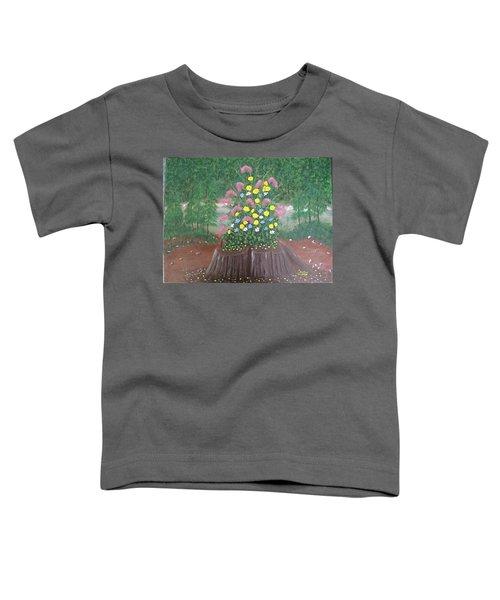 Bouquet On A Stump Toddler T-Shirt