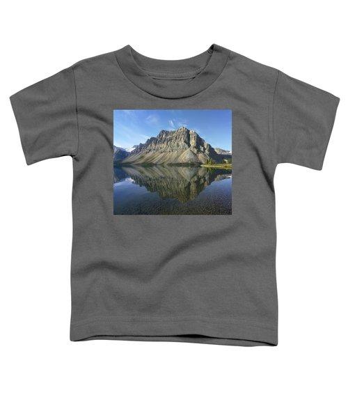 Bow Lake And Crowfoot Mts Banff Toddler T-Shirt