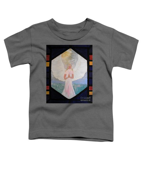Angel In Prayer  Toddler T-Shirt