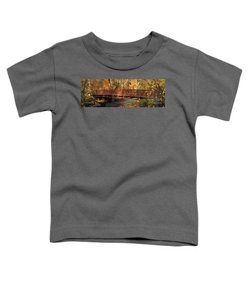 Bridge On Big Chico Creek Toddler T-Shirt