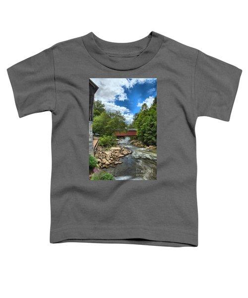 Bridging Slippery Rock Creek Toddler T-Shirt