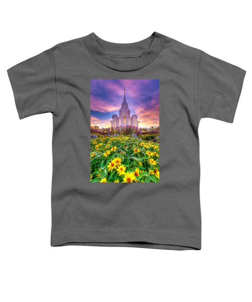 Brigham City Temple Toddler T-Shirt