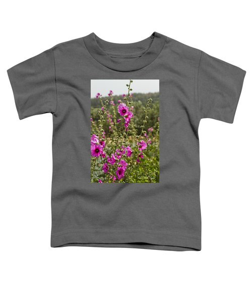 Bristly Hollyhock Toddler T-Shirt