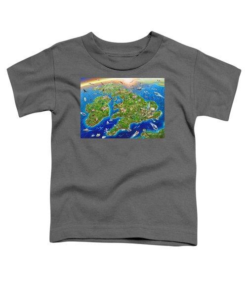 British Isles Toddler T-Shirt