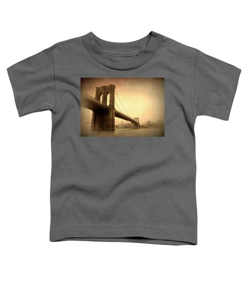 Brooklyn Bridge Nostalgia II Toddler T-Shirt