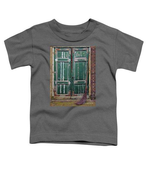 Broom Door Toddler T-Shirt