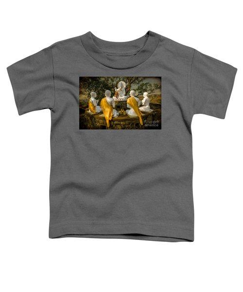 Buddha Lessons Toddler T-Shirt