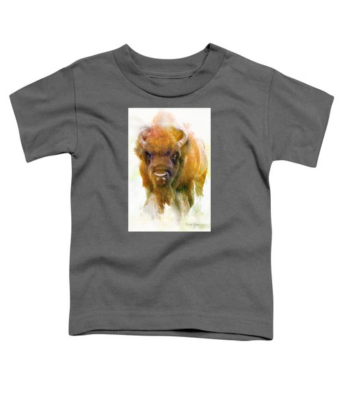 Da176 Buffalo II Daniel Adams Toddler T-Shirt