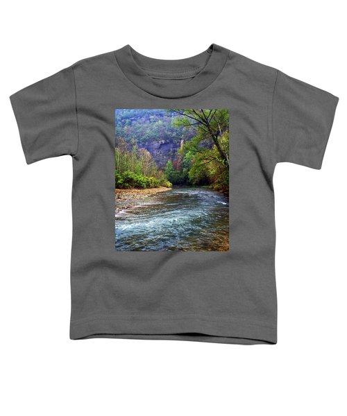 Buffalo River Downstream Toddler T-Shirt