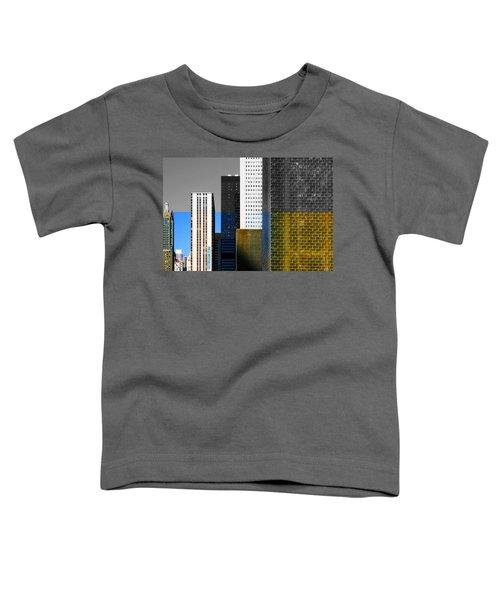 Building Blocks Cityscape Toddler T-Shirt