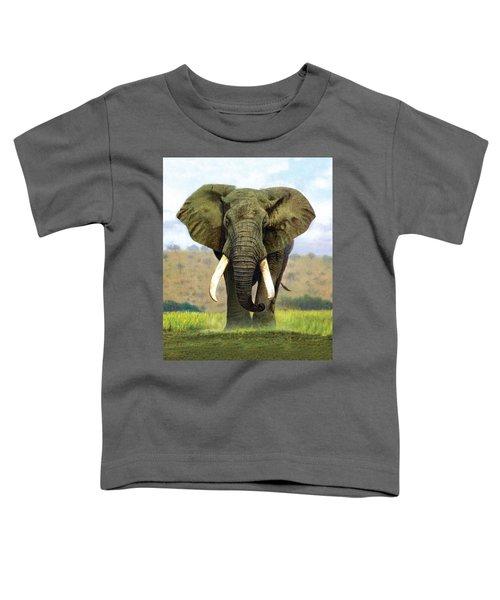 Bull Elephant Toddler T-Shirt