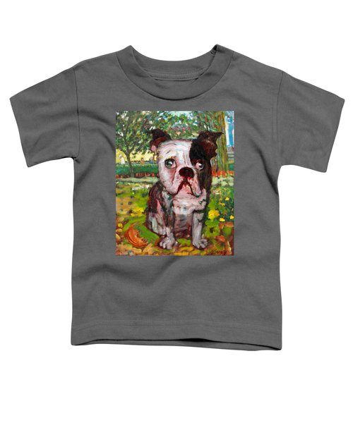 Bulldog Toddler T-Shirt
