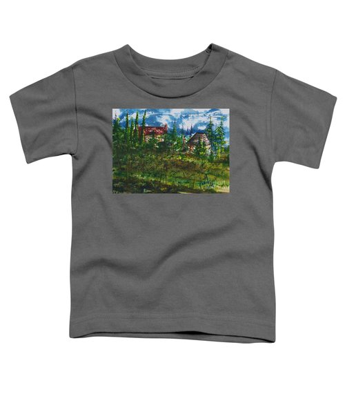 Burgundy In The Morning  Toddler T-Shirt