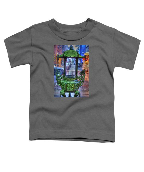 Burning Incense Toddler T-Shirt