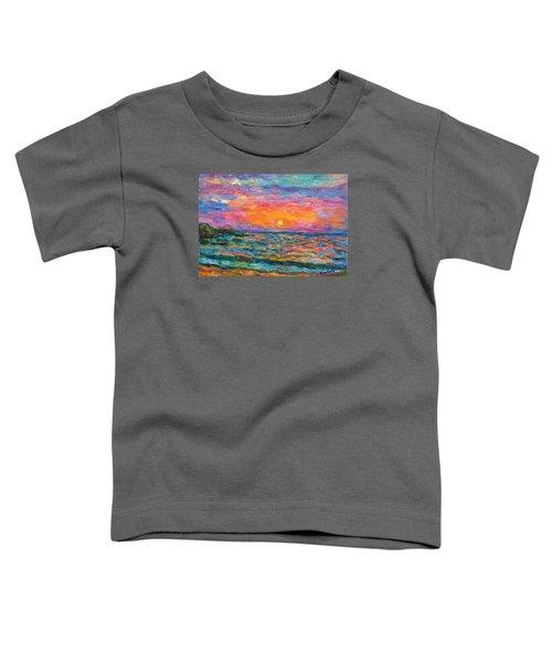 Burning Shore Toddler T-Shirt