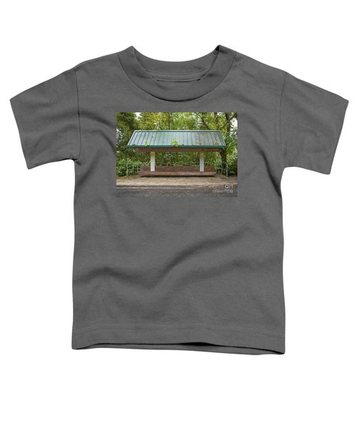 Bus Stop Bench In The Rainforest  Toddler T-Shirt
