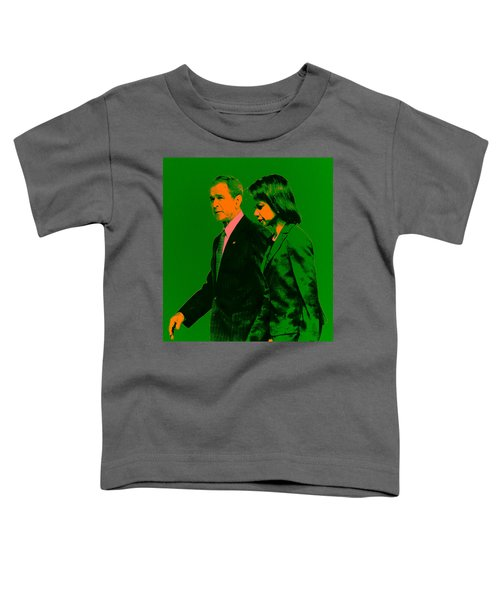 Bush And Rice Toddler T-Shirt by Brian Reaves