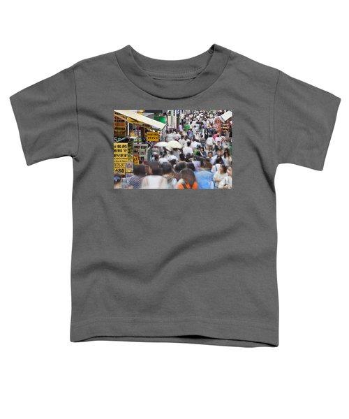 Busy Takeshita Dori Toddler T-Shirt