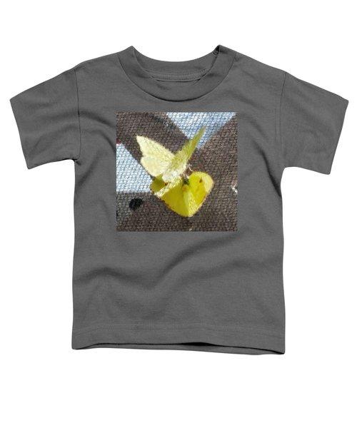 Sulfur Butterflies Mating Toddler T-Shirt