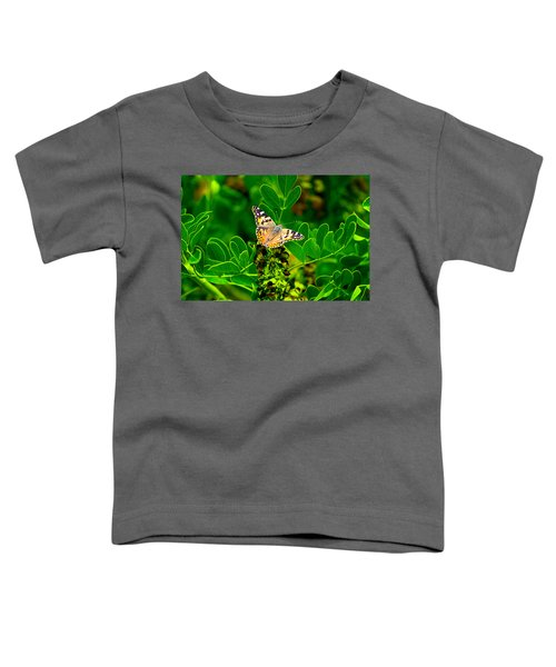 Butterfly In Paradise Toddler T-Shirt