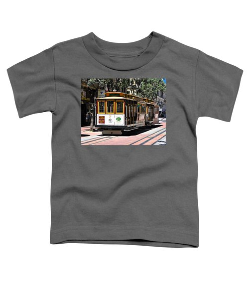 Cable Car - San Francisco Toddler T-Shirt