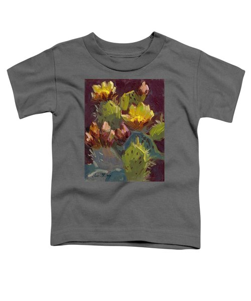 Cactus In Bloom 1 Toddler T-Shirt