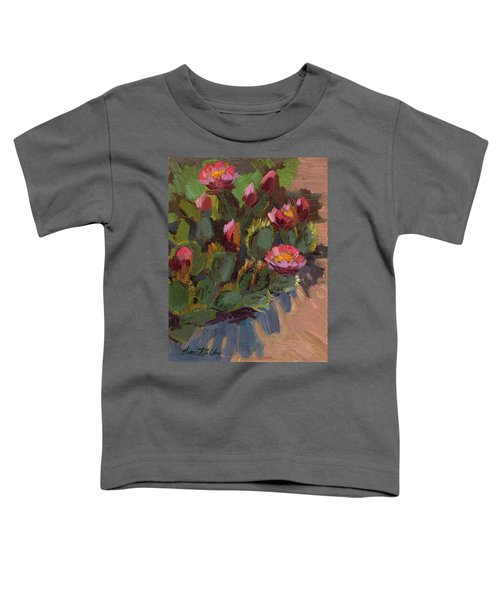 Cactus In Bloom 2 Toddler T-Shirt