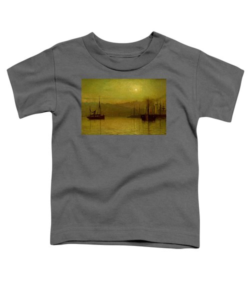 Calm Waters, Scarborough, 1880 Toddler T-Shirt