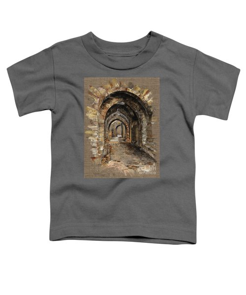 Camelot -  The Way To Ancient Times - Elena Yakubovich Toddler T-Shirt