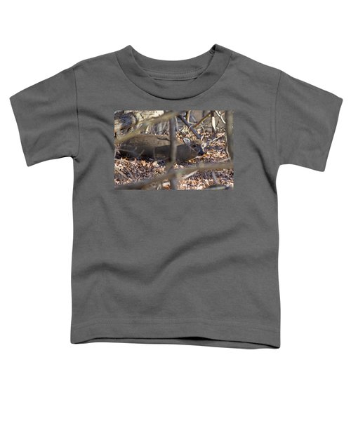 Camouflaged Toddler T-Shirt