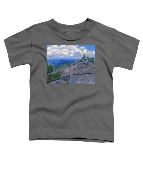 Campers On Mount Percival Toddler T-Shirt