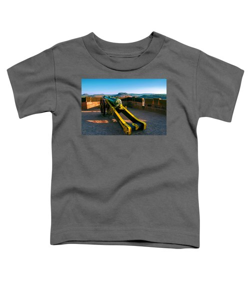 Cannon At The Fortress Koenigstein Toddler T-Shirt